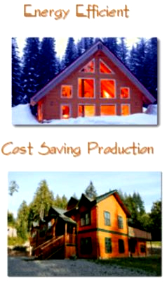 Sing Log Homes Energy Efficient Cost Saving Production